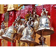 Temple Bells Photographic Print