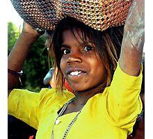 Girl, Rajastan  Photographic Print