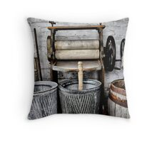 Washing Day. Throw Pillow