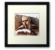War Boy  Framed Print