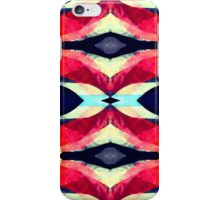 Pink and Blue Psychedelic iPhone Case/Skin