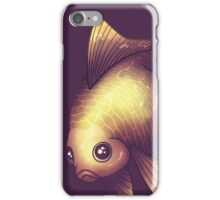 Fantail in Purple iPhone Case/Skin