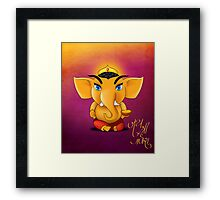 Jay Shree Ganesh Framed Print