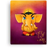 Jay Shree Ganesh Canvas Print