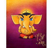 Jay Shree Ganesh Photographic Print