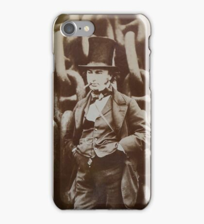 Isambard Kingdom Brunel iPhone Case/Skin