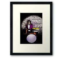 Swingin' Chimp Framed Print