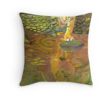 Tiger Reflections Throw Pillow