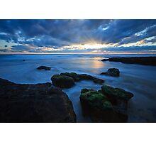 Woolamai Rays Photographic Print
