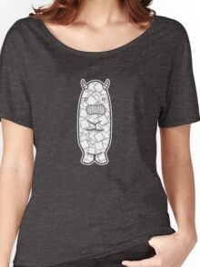 Patchwork Monster Women's Relaxed Fit T-Shirt