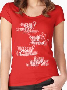 Drunk Deductions Women's Fitted Scoop T-Shirt
