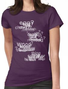 Drunk Deductions Womens Fitted T-Shirt