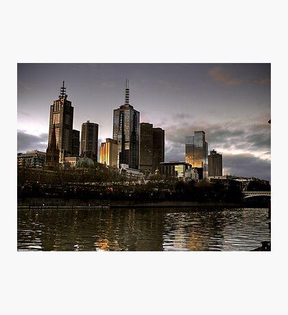 Metropolis Melbourne Photographic Print