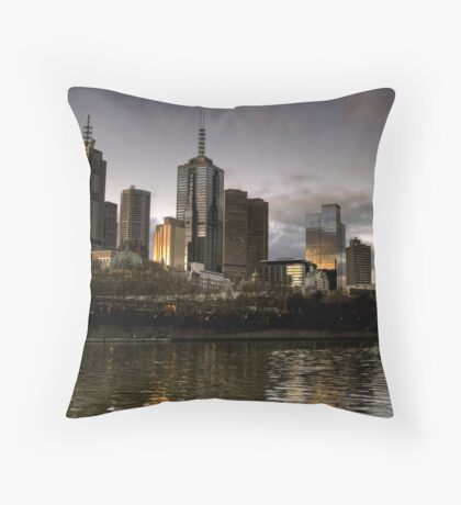 Metropolis Melbourne Throw Pillow