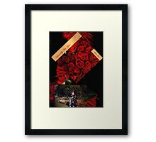 Especially For You....My Valentine ...with Love - Sunilism TM Framed Print