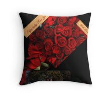 Especially For You....My Valentine ...with Love - Sunilism TM Throw Pillow