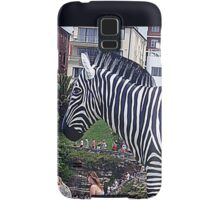 Zebra but not in a Zoo Samsung Galaxy Case/Skin