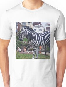 Zebra but not in a Zoo T-Shirt