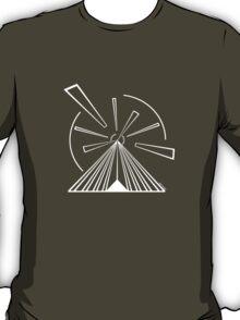 Mandala 14 Simply White  T-Shirt