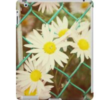 Flowers in the fence.... iPad Case/Skin