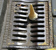 Grate but it's in the gutter by John Nelson