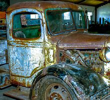 Old Truck. by Warren. A. Williams