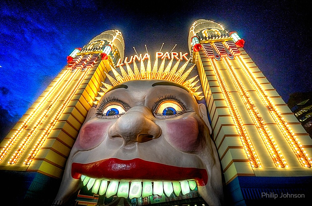 In Your Face - Luna Park   - The HDR Experience by Philip Johnson