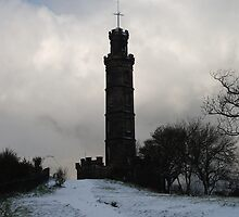 Nelson Monument parts the clouds by justbmac