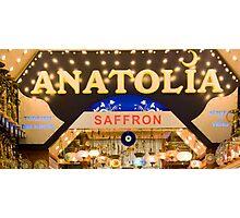 Anatolia Saffron Photographic Print