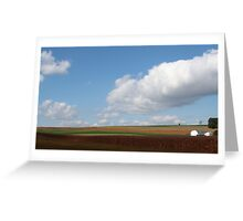 farmlands Greeting Card