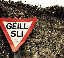 Gaelic Yield Sign by kirsten116