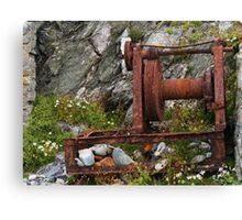 Rusty Winch Canvas Print