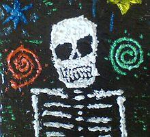 Mr space skeleton by daveloftus