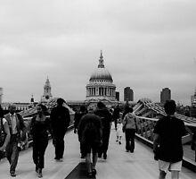 Trek of the Tourists. by RichardWalk