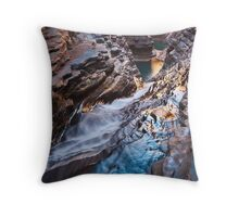 The Centre of the Earth Throw Pillow