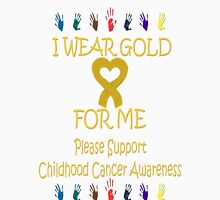I Wear Gold for Me Tee Unisex T-Shirt