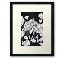 Indominus Rex Framed Print