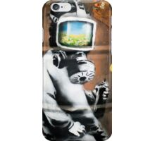 Banksy at HMV iPhone Case/Skin