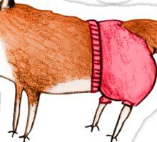 Foxy Pants Sticker