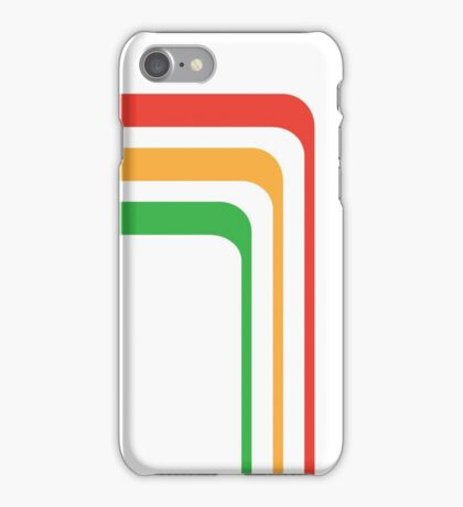 Early 80's Stripes Redo iPhone Case/Skin