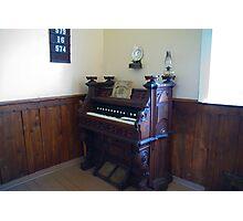 Organ, Sandtown Advent Christian Church, Lost Villages, Cornwall, Ontario Photographic Print