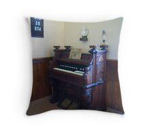 Organ, Sandtown Advent Christian Church, Lost Villages, Cornwall, Ontario Throw Pillow