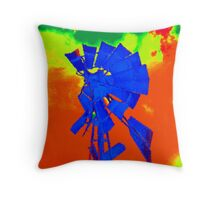 COLORBOMB 2 Throw Pillow