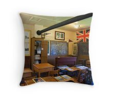 Schoolroom, Lost Villages, Cornwall, Ontario Throw Pillow