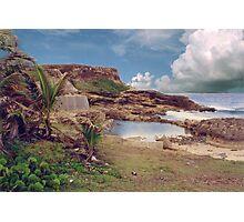 "Puerto Rico,"" El Moro"" Atlantic view Photographic Print"