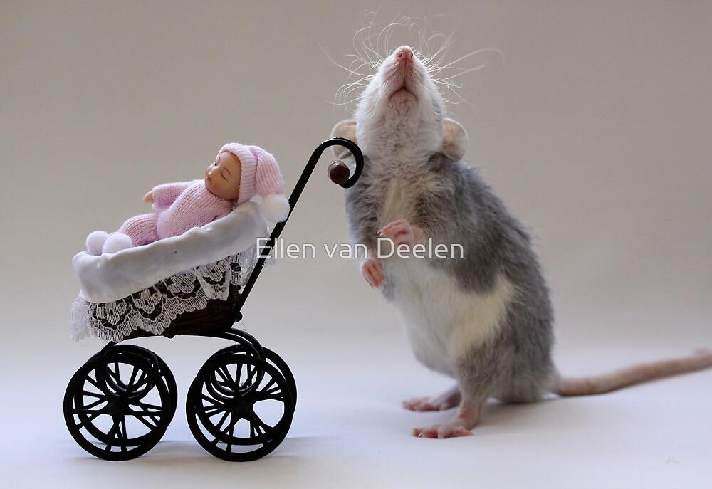 A real babysitter :) by Ellen van Deelen