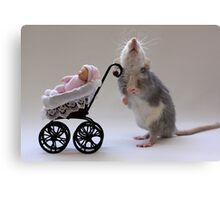 A real babysitter :) Canvas Print