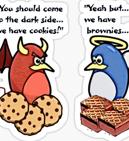 Brownies are BETTER! Sticker