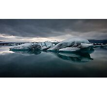 Glacier Lagoon August 2009 #2 Photographic Print