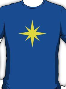 Captain Marvel Star T-Shirt